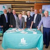 Partners show their commitment to The Leven vision by signing Sustainable Growth Agreement